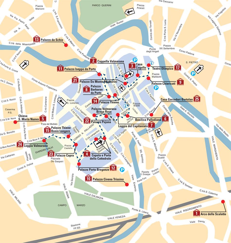 Centro storico for Appartamento centro storico vicenza